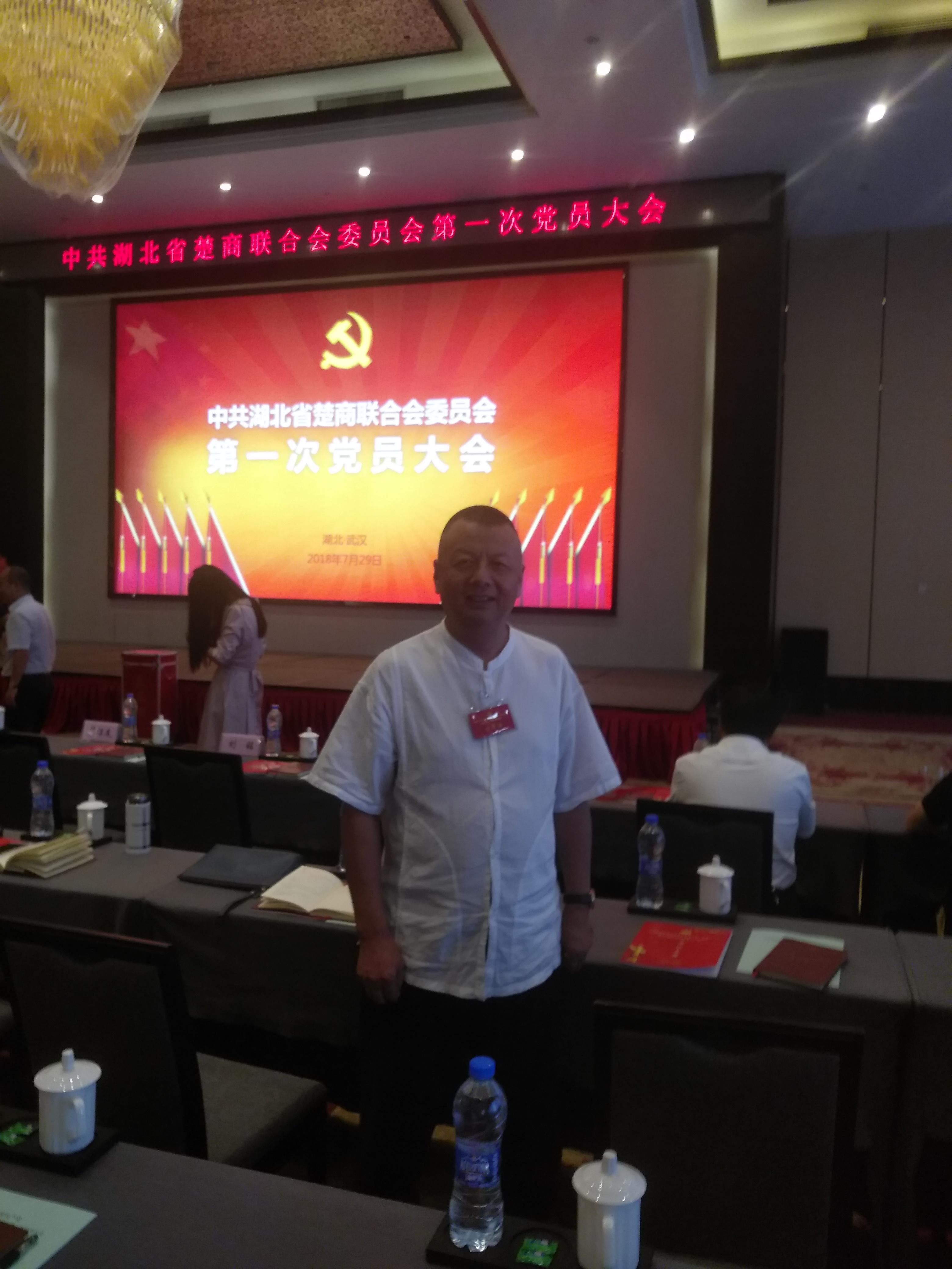 董事长陈新参加湖北省楚商联合会第一次党员代表大会